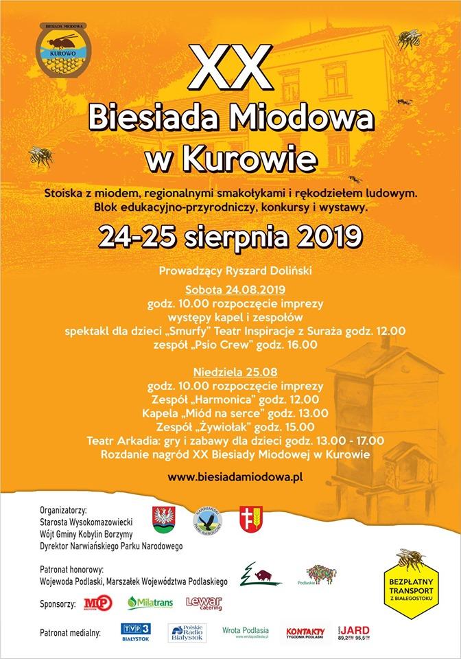 Biesiada Miodowa w Kurowie